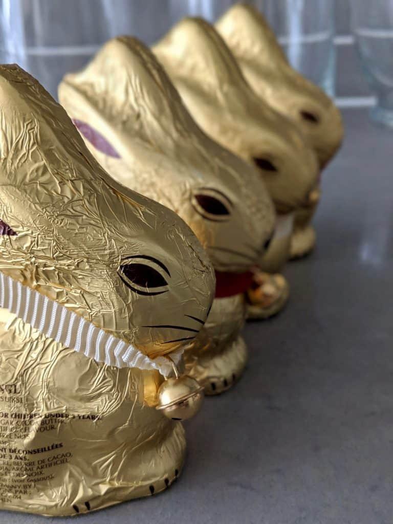 Lindt golden rabbits